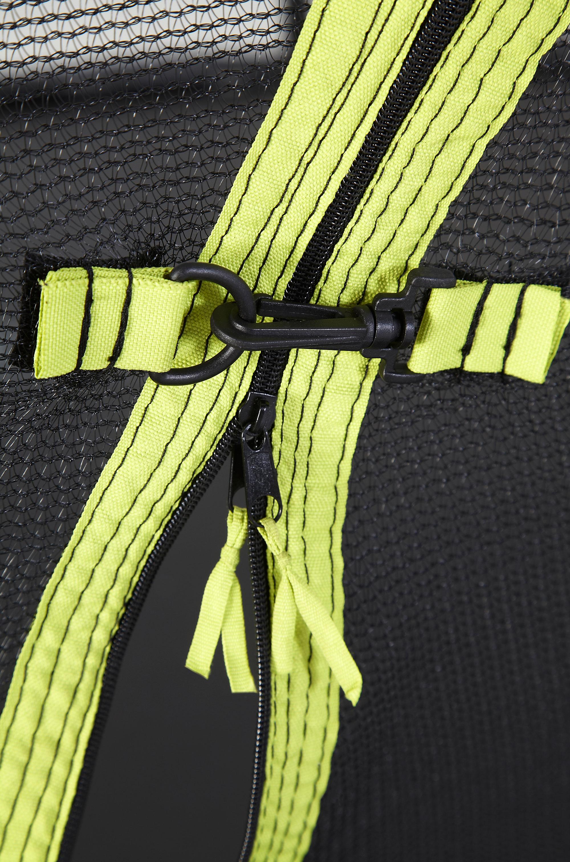 Trampolin Plum Whirlewind mit Sicherheitsnetz Ø305cm schwarz-gelb Bild 5