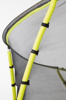 Trampolin Plum Whirlewind mit Sicherheitsnetz Ø305cm schwarz-gelb Bild 4