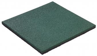 Fallschutzplatte / Gummimatte hicar grün 500x500x25mm