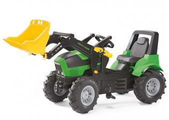 Trettraktor rolly Farmtrac Deutz-Fahr Agrotron Luftreifen - Rolly Toys